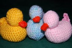 Nap Duck Stuffed Animal Crochet  Cuddly Sleep Toy by BBkid on Etsy, $10.00