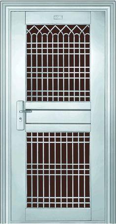 Luxury Stainless Steel Entry Doors