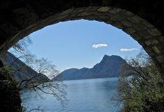 the walk from Gandria to Lugano
