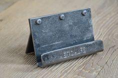 Gepersonaliseerde hand gemaakt/gesmeed metaal door MetcalfeIronWorks
