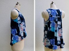 Racerback tank t-shirt pattern, for the warm days ahead. - So Sew Easy