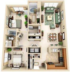 Stone Ridge apts- nice floorplans (i.e. separated bedrooms), little $$