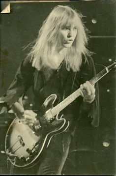 Alex Lifeson, Rush. The most underrated guitarist if I do say so myself. Still hot.