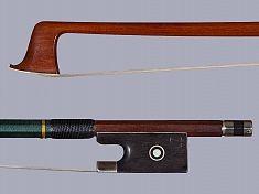 H.R. PFRETZSCHNER violin bow, nickel