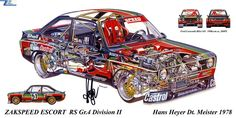 ZAKSPEED Ford Escort RS Gr.4 Division2 `1978