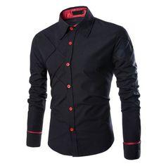Evanescent Crossed Urban Dress Shirt – U R B A N S T O X