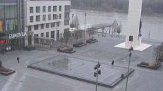 Bratislava - Slovakia Live webcams City View Weather - Euro City Cam #Slovakia #Slovensko #webcams #niceview #travel #beautifulplace #street #view #cestovné #ulice #počasie #city
