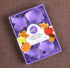 Wilton Mini Thanksgiving Cookie Cutters