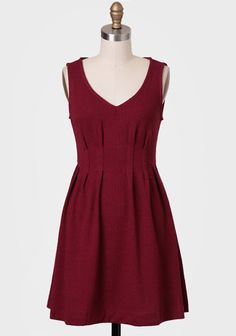 Cranberry Cider Textured Dress at #Ruche @Ruche