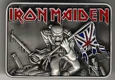 Iron Maiden,The Trooper Belt Buckle,UK,Deleted,MEMORABILIA,367949