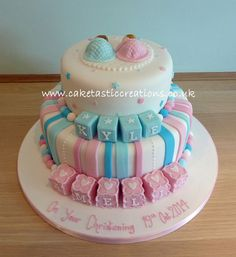 Christening & Communion Cakes -  Caketastic Creations           by Johanna