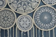 This stunning giant dreamcatcher wall hanging will become an unforgettable wedding decor centerpiece. It will set a bohemian mood and a free spirited vibe at your wedding. Absolutely beautiful and feminine, this crochet dreamcatcher wall hanging can be used as a ceremony backdrop, a photo backdrop or wall decor. If you are a bohemian bride or a girl who is love in love with a bohemian style, crochet and lace, you will really enjoy this wall art. It took so much work and love to create this…
