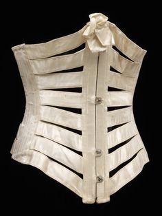 Summer Corset 1895 The Victoria Albert Museum - OMG that dress!