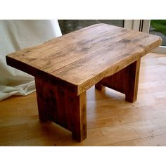 New Hand Made Rustic Coffee Table £135.00