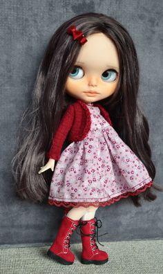Réservés à Renata personnalisé Blythe doll par par CARLXYDOLLS