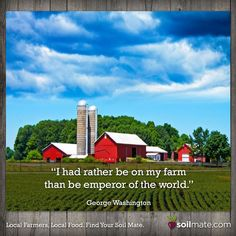So would we George, so would we. :) #farming #farms #ratherbefarming #soilmate #quotes