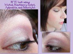A beautiful wearable frosty purple look by BFTE fan Samantha Purple Eyeshadow Looks, Eye Makeup, Hair Makeup, Eye Color, Blue Eyes, Lavender, Fan, Beauty, Beautiful