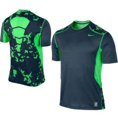 Nike Men's Hypercool Fitted Grid Camo Shirt - Dick's Sporting Goods