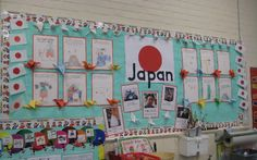 Japan classroom display photo - Photo gallery - SparkleBox