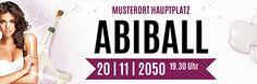 Erstellen Sie Ihr individuellen Werbebanner für Abibälle bei onlineprintXXL! #abiballbanner #indviduellebannerabiball