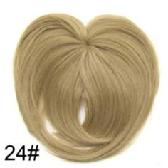 Silky Clip-On Hair Topper Wig Heat Resistant Fiber Extension - Daily False Hair. 1 x Silky Clip-On Hair Topper. It is ahairpiece, not a full wig, anyone won't know you are wearing anything.Perfect solution to conceal thin hair, gray hair, hair loss. Wig Hairstyles, Straight Hairstyles, Fake Fringe, Hairpieces For Women, Natural Hair Styles, Short Hair Styles, Short Straight Hair, Thin Hair, Hair Toppers
