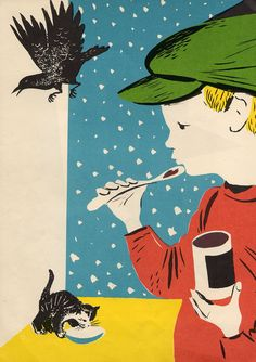 by Margaret Wise Brown with pictures by Leonard Weisgard/ published 1950 by Harper & Row