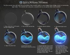 Tutorial time as I work on my next animation. If you want an easy way to m… Tutorial time as I work on my next animation. If you want an easy way to make potions and elixirs, this tutorial uses… Continue reading → Digital Painting Tutorials, Digital Art Tutorial, Painting Tips, Art Tutorials, Drawing Tutorials, Digital Paintings, Matte Painting, Design Tutorials, Drawing Techniques