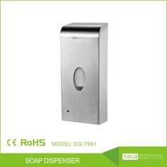 """1000ml stainless steel automatic liquid soap dispenser,wall mounted electric sensor hand sanitizer dispenser"""