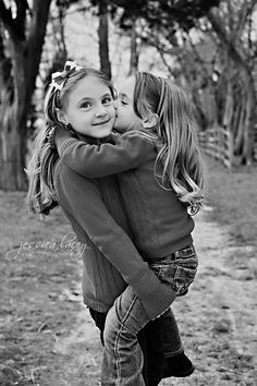 family photo shoot ideas - Sisterly Love