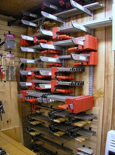 They say you can never have too many clamps and I have room to expand!