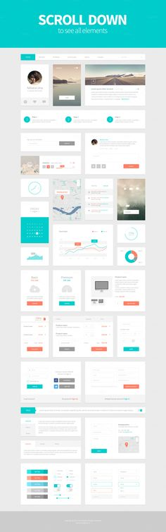 Alpha UI Kit by Victor Barac on Creative Market