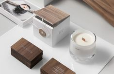 The Polish studio helped Message Candles to create a brand identity for their new product.