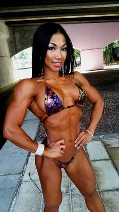 American body nude Asian female