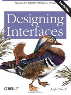 Designing Interfaces  It is an updated edition that includes patterns for mobile apps and social media, full-color examples and reliable advices for a good application interface creation.    Read more: http://www.webdesign.org/web-design-basics/design-principles/web-design-books.21145.html