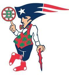 Rep your hood hard. All sports logo combined Boston Sports, Boston Red Sox, Boston Skyline, New England Patriots Football, Patriots Logo, Hockey World, Go Pats, City Logo, Boston Strong