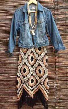 Ideas Crochet Skirt Winter Granny Squares – Crochet Pattern and ideas Crochet Blanket Edging, Crochet Granny, Crochet Stitches, Knit Crochet, Doilies Crochet, Crochet Skirts, Crochet Clothes, Square Skirt, Boho Fashion Winter