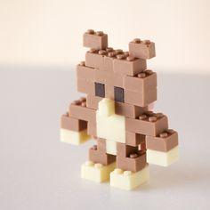 Lego de chocolate, el proyecto de Akihiro Mizuuchi (Yosfot blog)