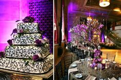 BEAUTIFUL cake.. I bet I could have it done in my colors too!