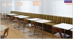 Apt for restaurants and cafes, this series leaves an aura that is welcoming. #RestaurantFurniture