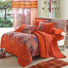 Aliexpress.com : Buy Reactive Sanding 4pcs Bedding Sets with more comfortable,warm and soft in the winter,quilt cover,bedspread,bed sheet,pillowcase from Reliable set children suppliers on Yous Home Textile $86.00 - 88.00 Bed Sheet Sets, Bed Sheets, Bed Comforter Sets, Colorful Bedding, Queen Size Duvet Covers, Linen Bedding, Bed Linen, Cheap Bedding Sets, Winter Quilts