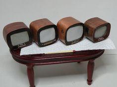 PIENI TALO, SUURI MAAILMA: Televisiot puusta