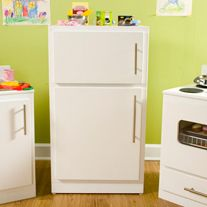 Making A Play Refrigerator From An Old Cabinet Diy Play