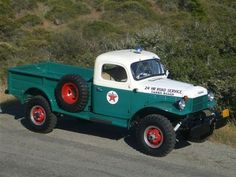 1956 Dodge Power Wagon Maintenance/restoration of old/vintage vehicles: the material for new cogs/casters/gears/pads could be cast polyamide which I (Cast polyamide) can produce. My contact: tatjana.alic@windowslive.com