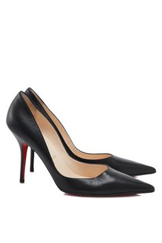 Pre-owned Christian Louboutin Leather Pumps