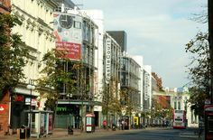Castles Near Belfast | J3374 : The Castle Court shopping centre, Belfast.  Not bad, but not quite Sunset Blvd.