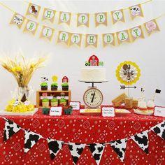 Hostess with the Mostess® - Farm Animal Barn 1st Birthday