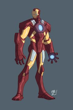 Iron man animated avengers - photo#1