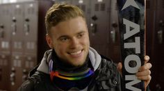 Dec. 1, 2016 - Outsports.com - Out athlete Gus Kenworthy looks to acting after hanging up his skis