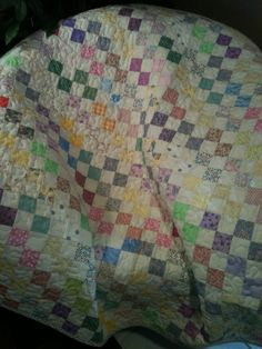 Pastels And The Scrappy Look Of Vintage by WrappingYouInWarmth, $80.00