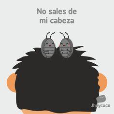 #jheycoco #jheyco #humor #literal #chibi #kawaii #cute #funny #ilustration #ilustración #lindo #amor #love #cabeza #piojo #liendra #cabello